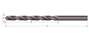 A110 - Lange Spiralbohrer