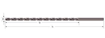 A125 - Spiralbohrer, extra lang