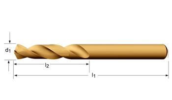 A620 - Spiralbohrer, kurz