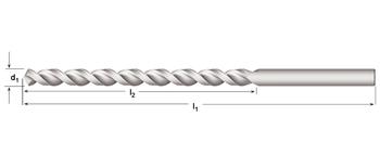 A940 - PFX - Tieflochspiralbohrer, lang