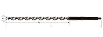 A951 - Spiralbohrer MK, extra lang