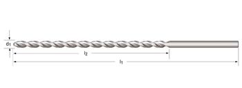 A976 - PFX - Tieflochspiralbohrer, extra lang