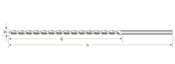 A977 - PFX - Tieflochspiralbohrer, extra lang