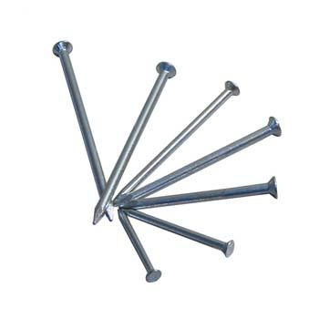 Flachkopf-Nägel aus gehärtetem Stahl