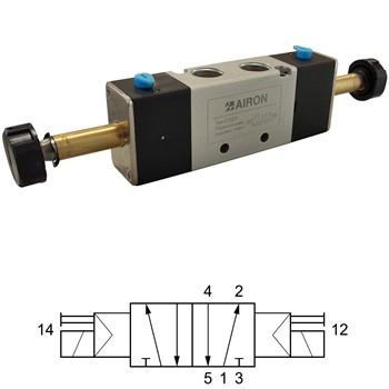 5/2-WEGE BISTABILE MAGNETVENTILE  Mod. EF52E
