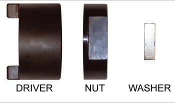 B957 - Ersatzteile für MK Aufsteckhalter B956