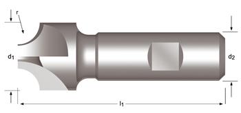 C700 - Viertelrund-Profilfräser