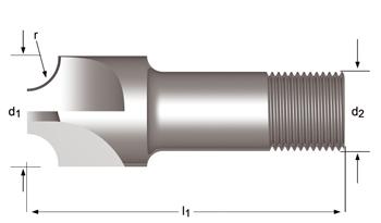 C710 - Viertelrund-Profilfräser