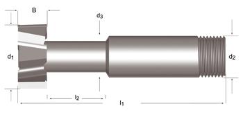 C810 - T-Nutenfräser