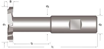 C825 - T-Nutenfräser