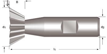 C830 - Winkel-Schaftfräser