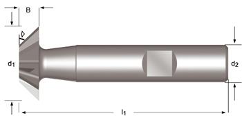 C831 - Winkelstirnfräser