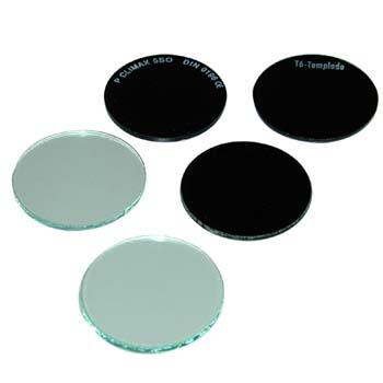 Rundes Ersatzglas 50 mm Durchmesser