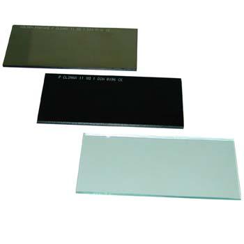 Schweißerschutzglas 110 x 55 mm.