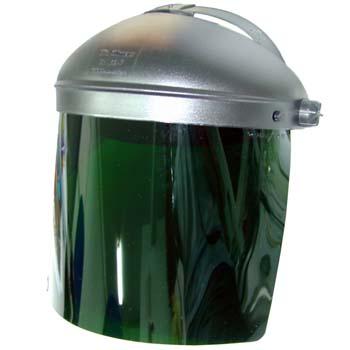 Grünem Gesichtsschutzschirm Mod. 424-RN/2 GRÜN.