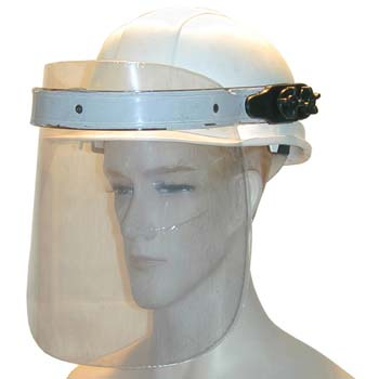 Gesichtsschutzschirm mit Helm Mod. 436.