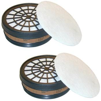 Ersatzfilter für Atemschutzmaske Mod. 755.