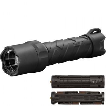 Wiederaufladbare fokussierbare LED-Taschenlampe 710 Lumen Mod. POLYSTEEL 600R