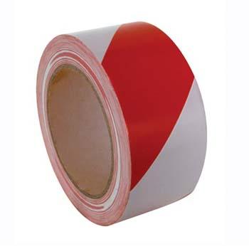 Rot-weiß Warnband