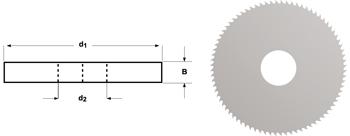D747 - Metallkreissägeblatt fein