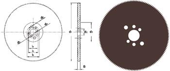 D750 - Metallkreissägeblatt