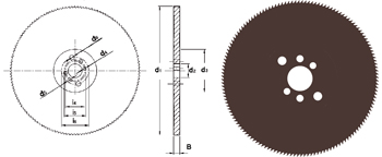 D751 - Metallkreissägeblatt