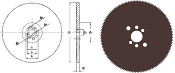 D752 - Metallkreissägeblatt