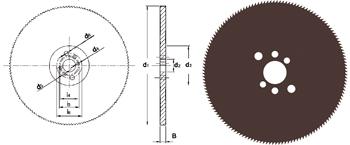 D753 - Metallkreissägeblatt