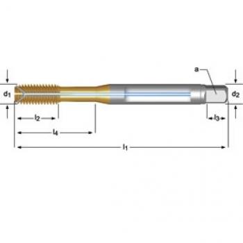E289 - M Maschinen-Gewindeformer, Ölnuten / Schmiernuten und Innenkühlung