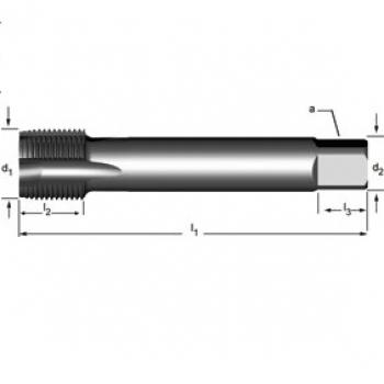E788 - G(BSP)  Maschinen-Gewindebohrer, geradegenutet mit Schälanschnitt