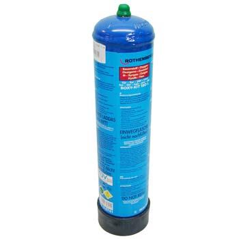 Sauerstoffflasche für ROXI-KIT Autogenschweißgerät