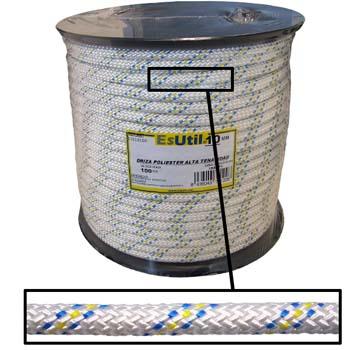 Geflochtenes Polyester Reepschnur mit hohe Zähigkeit