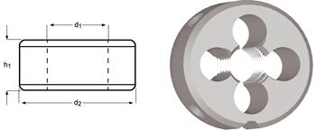 F108 - M Schneideisen, Schälanschnitt, geläppt