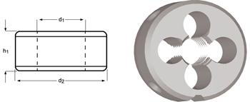 F120 - UNC Schneideisen, Schälanschnitt, geläppt