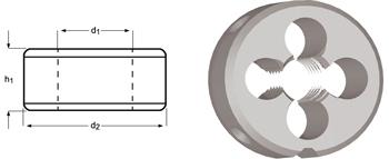 F140 - BSW Schneideisen, Schälanschnitt, geläppt