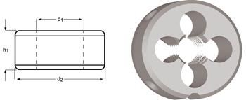 F150 - BSF Schneideisen, Schälanschnitt, geläppt