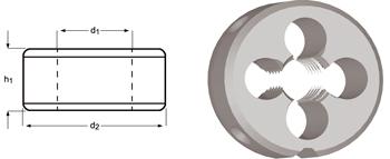 F170 - G(BSP) Schneideisen, Schälanschnitt, geläppt