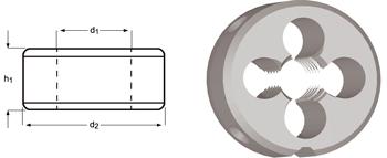 F190 - PG Schneideisen, Schälanschnitt, geläppt