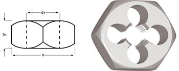 F272 - G(BSP) Sechskant-Schneideisen