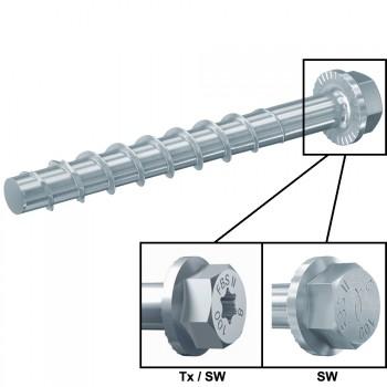 Leistungsstarke Betonschraube Mod.  ULTRACUT FBS II US