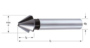 G135 - Kegelsenker  - 60°
