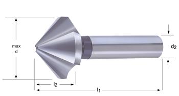 G154 - Kegelsenker  - 82°