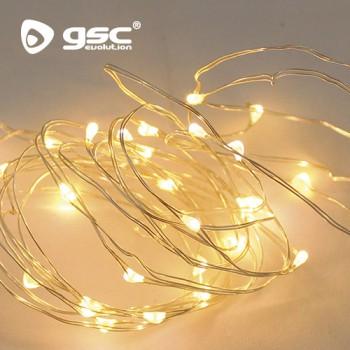 LED-Lichterkette warmweiß Ref. 5204400-5204405-5204410-5204413-5204418