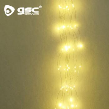 LED-Lichterbündel 12 Stränge 1M Ref. 5204458