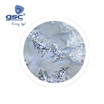 LED-Lichterkette mit Silberbäume Ref. 5204473
