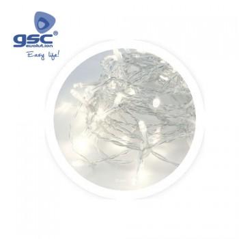 Farblose LED-Lichterkette Ref. 5204466-5204468