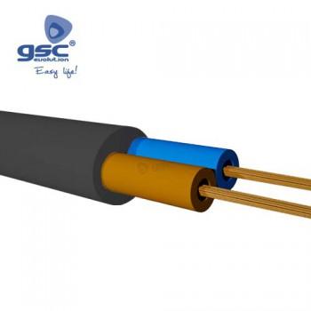 Mantelleitung flach und schwarz (Rolle 100M) Ref. 3902935-3902936-3902937