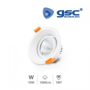 Schwenkbare LED-Einbaustrahler COB Merur Ref. 000703424-000703425
