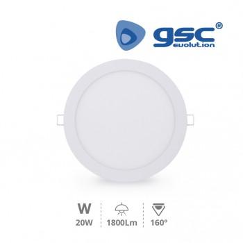 LED Einbaustrahler Downlight Olimpia (Ø225x13mm) Ref. 000701970-000702132