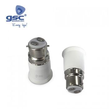 Lampenfassung Adapter B22 - E27 Ref. 002203691